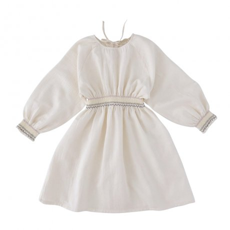 <img class='new_mark_img1' src='https://img.shop-pro.jp/img/new/icons8.gif' style='border:none;display:inline;margin:0px;padding:0px;width:auto;' />Liilu / Smocked Raglan Dress / smock