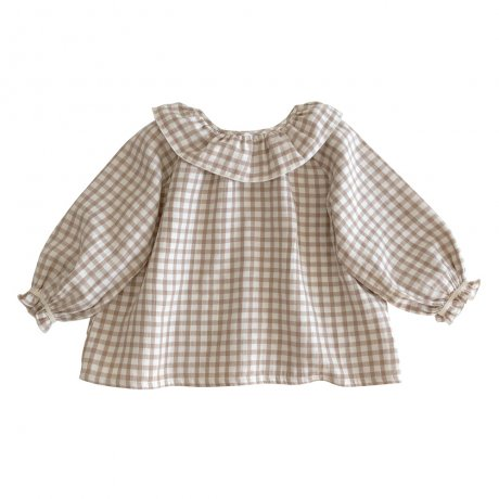 <img class='new_mark_img1' src='https://img.shop-pro.jp/img/new/icons8.gif' style='border:none;display:inline;margin:0px;padding:0px;width:auto;' />Liilu / Oana Blouse / Check