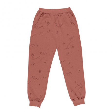 RED CARIBOU / Jogger / Yeti tracks / Light mahogany (G.Dyed) / AW19-BT07-38