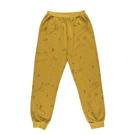 RED CARIBOU / Jogger / Yeti tracks / Arrowwood (G.Dyed) / AW19-BT07-31