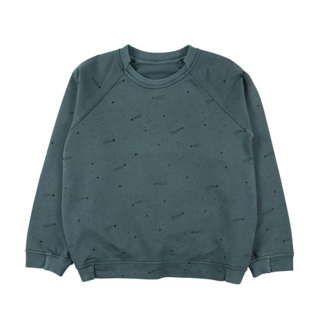 RED CARIBOU / Sweatshirt / Bright stars / Balsam (G.Dyed) / AW19-CV09-07