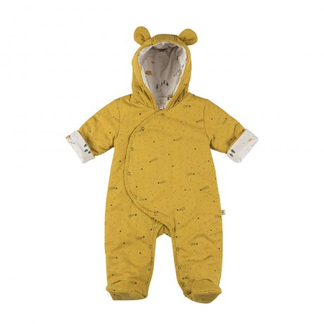 <img class='new_mark_img1' src='https://img.shop-pro.jp/img/new/icons8.gif' style='border:none;display:inline;margin:0px;padding:0px;width:auto;' />RED CARIBOU / Padded Insulated Jumpsuit / Bright stars / Arrowwood (G.Dyed) / AW19-CV01-05
