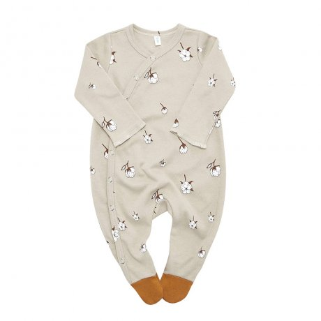 <img class='new_mark_img1' src='https://img.shop-pro.jp/img/new/icons8.gif' style='border:none;display:inline;margin:0px;padding:0px;width:auto;' />Organic Zoo / Cottonfield Suit with contrast feet