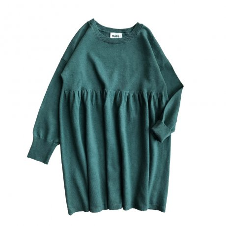 <img class='new_mark_img1' src='https://img.shop-pro.jp/img/new/icons8.gif' style='border:none;display:inline;margin:0px;padding:0px;width:auto;' />MABLI / Eleri Dress / Agate Green / MAB088