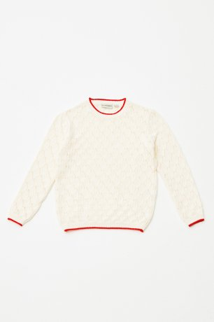 THE CAMPAMENTO / OPEN KNITTED JUMPER / TC-SS20-18