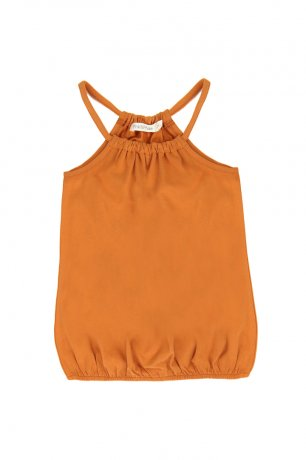 Phil&Phae / Gathered summer top / 201101 / tangerine