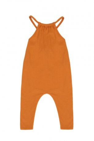 Phil&Phae / Gathered jumpsuit / 201508 / tangerine