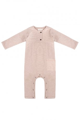 <img class='new_mark_img1' src='https://img.shop-pro.jp/img/new/icons8.gif' style='border:none;display:inline;margin:0px;padding:0px;width:auto;' />Phil&Phae / Henley jumpsuit l/s stripe / 201512 / sand stripe