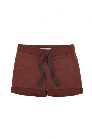 <img class='new_mark_img1' src='https://img.shop-pro.jp/img/new/icons8.gif' style='border:none;display:inline;margin:0px;padding:0px;width:auto;' />Phil&Phae / Sweat shorts slub / 201209 / Russet