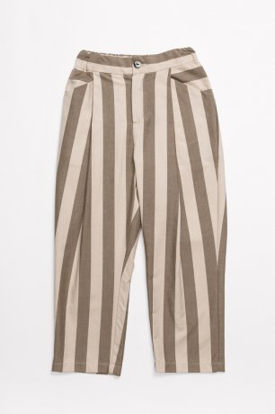 <img class='new_mark_img1' src='https://img.shop-pro.jp/img/new/icons8.gif' style='border:none;display:inline;margin:0px;padding:0px;width:auto;' />MOTORETA / RELAXED PANTS / Beige & maroon stripes / SS200096(Adult)