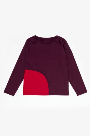 MOTORETA / RASH GUARD / Burgundy and red / SS200134