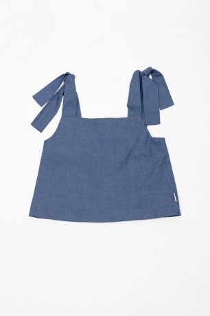 <img class='new_mark_img1' src='https://img.shop-pro.jp/img/new/icons8.gif' style='border:none;display:inline;margin:0px;padding:0px;width:auto;' />MOTORETA / CANOS BLOUSE / Blue denim / SS200049