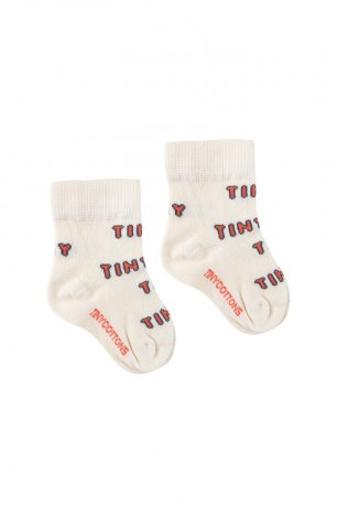 "<img class='new_mark_img1' src='https://img.shop-pro.jp/img/new/icons8.gif' style='border:none;display:inline;margin:0px;padding:0px;width:auto;' />tinycottons / ""TINY"" MEDIUM SOCKS / light cream red / SS20-300"