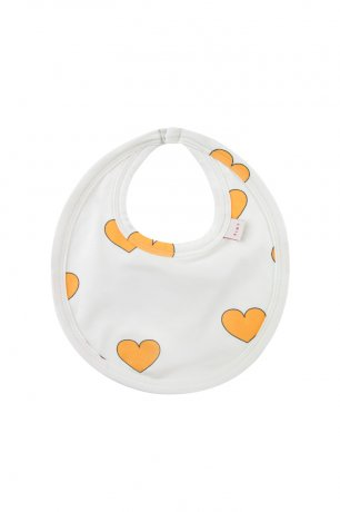 "<img class='new_mark_img1' src='https://img.shop-pro.jp/img/new/icons8.gif' style='border:none;display:inline;margin:0px;padding:0px;width:auto;' />tinycottons / ""HEARTS "" BIB / off-white yellow / SS20-027"
