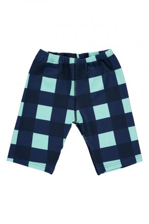 <img class='new_mark_img1' src='https://img.shop-pro.jp/img/new/icons8.gif' style='border:none;display:inline;margin:0px;padding:0px;width:auto;' />BEAU LOVES / Swim Cycle Pants / Gingham / Navy