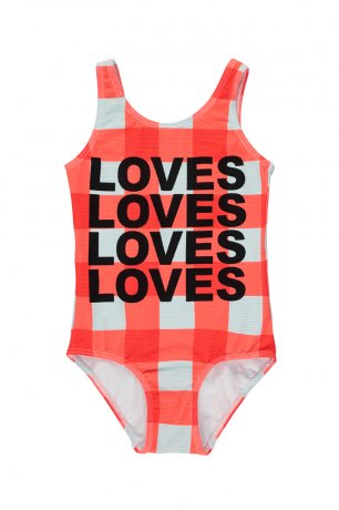 <img class='new_mark_img1' src='https://img.shop-pro.jp/img/new/icons8.gif' style='border:none;display:inline;margin:0px;padding:0px;width:auto;' />BEAU LOVES / Swimsuit / Gingham / Red