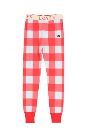 <img class='new_mark_img1' src='https://img.shop-pro.jp/img/new/icons8.gif' style='border:none;display:inline;margin:0px;padding:0px;width:auto;' />BEAU LOVES / Leggings / Gingham / Red