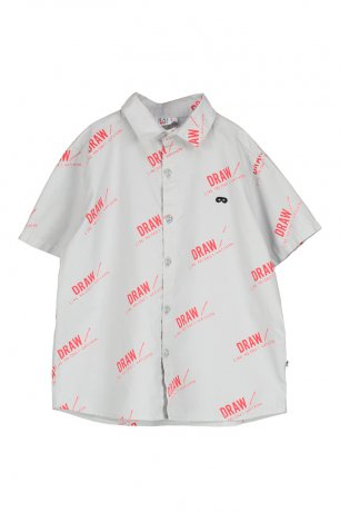 <img class='new_mark_img1' src='https://img.shop-pro.jp/img/new/icons8.gif' style='border:none;display:inline;margin:0px;padding:0px;width:auto;' />BEAU LOVES / Short Sleeve Shirt / Draw / Quiet Grey