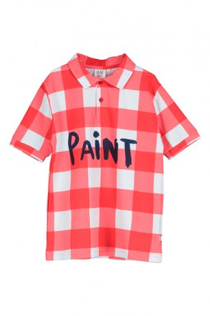 BEAU LOVES / Polo / Gingham / Red