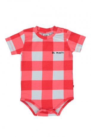 BEAU LOVES / Baby Body / Gingham / Red