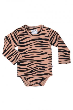 <img class='new_mark_img1' src='https://img.shop-pro.jp/img/new/icons8.gif' style='border:none;display:inline;margin:0px;padding:0px;width:auto;' />CarlijnQ / romper long sleeve / tiger / TGR87