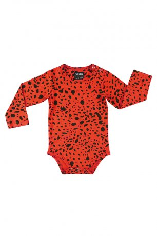 <img class='new_mark_img1' src='https://img.shop-pro.jp/img/new/icons8.gif' style='border:none;display:inline;margin:0px;padding:0px;width:auto;' />CarlijnQ / romper long sleeve / spotted animal / SPT132
