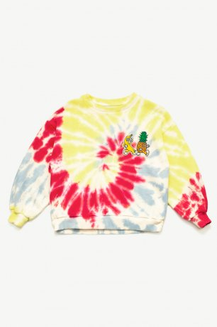 <img class='new_mark_img1' src='https://img.shop-pro.jp/img/new/icons8.gif' style='border:none;display:inline;margin:0px;padding:0px;width:auto;' />Les Petits Vandales / Tie Dye Sweatshirt / LPV012