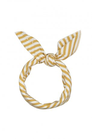 <img class='new_mark_img1' src='https://img.shop-pro.jp/img/new/icons8.gif' style='border:none;display:inline;margin:0px;padding:0px;width:auto;' />GRAY LABEL / Head Scarf / Mustard/Off White Stripe