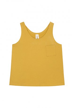 <img class='new_mark_img1' src='https://img.shop-pro.jp/img/new/icons8.gif' style='border:none;display:inline;margin:0px;padding:0px;width:auto;' />GRAY LABEL / Pocket Tank Top / Mustard