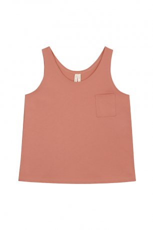 <img class='new_mark_img1' src='https://img.shop-pro.jp/img/new/icons8.gif' style='border:none;display:inline;margin:0px;padding:0px;width:auto;' />GRAY LABEL / Pocket Tank Top / Faded Red