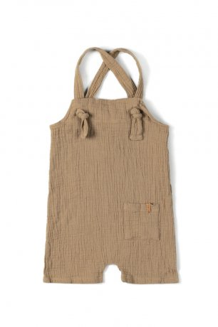 nixnut / Knot Playsuit / Biscuit