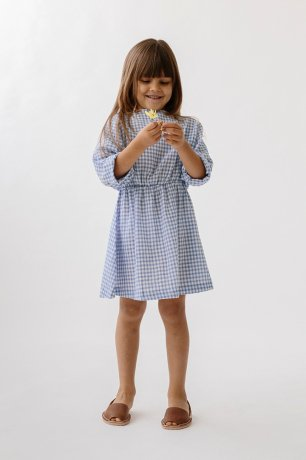 DAUGHTER / EASY DRESS / BLUEBIRD CHECK