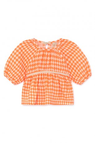 <img class='new_mark_img1' src='https://img.shop-pro.jp/img/new/icons8.gif' style='border:none;display:inline;margin:0px;padding:0px;width:auto;' />little creative factory / Baby Tiny Diamond Blouse / Neon / B032A