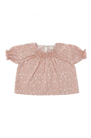 <img class='new_mark_img1' src='https://img.shop-pro.jp/img/new/icons8.gif' style='border:none;display:inline;margin:0px;padding:0px;width:auto;' />Liilu / Smocked blouse / Flower petals
