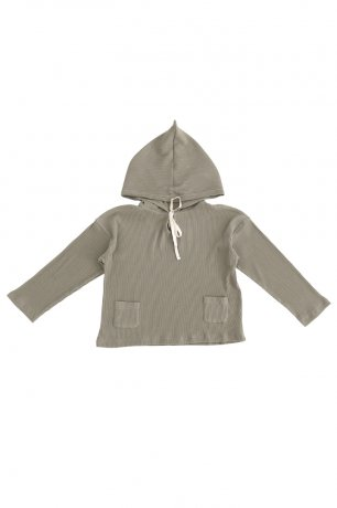 <img class='new_mark_img1' src='https://img.shop-pro.jp/img/new/icons8.gif' style='border:none;display:inline;margin:0px;padding:0px;width:auto;' />[2nd] Liilu / Rib hoodie / Dry green