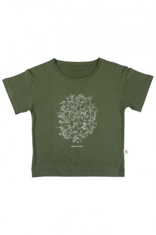 <img class='new_mark_img1' src='https://img.shop-pro.jp/img/new/icons8.gif' style='border:none;display:inline;margin:0px;padding:0px;width:auto;' />RED CARIBOU / T-Shirt / Under the Canopy / Chive / SS20-TP03-45