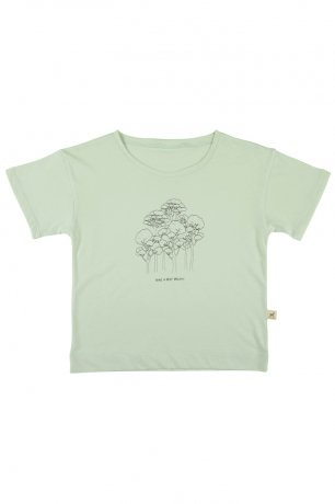 RED CARIBOU / T-Shirt / Take a Deep Breath / Almost Aqua / SS20-TP03-39