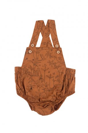 <img class='new_mark_img1' src='https://img.shop-pro.jp/img/new/icons8.gif' style='border:none;display:inline;margin:0px;padding:0px;width:auto;' />RED CARIBOU / Woven Romper / The Canopy / Glazed Ginger / SS20-JS05-16