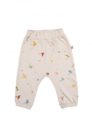 <img class='new_mark_img1' src='https://img.shop-pro.jp/img/new/icons8.gif' style='border:none;display:inline;margin:0px;padding:0px;width:auto;' />RED CARIBOU / Baggy Pants / Tropical birds / Pink Tint / SS20-BT01-30