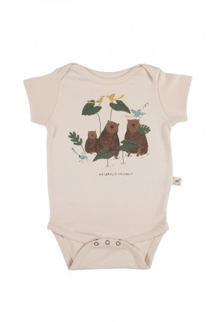 <img class='new_mark_img1' src='https://img.shop-pro.jp/img/new/icons8.gif' style='border:none;display:inline;margin:0px;padding:0px;width:auto;' />RED CARIBOU / Onesie S/S / Naturally Friendly / Pink Tint / SS20-OS01-37