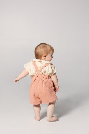 yellowpelota / Yoke Blouse (baby) / Natural / SS20-04.1-BL39