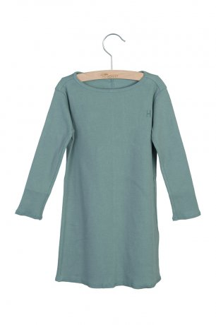 little HEDONIST / Dress Jacky Rib / Chinois Green
