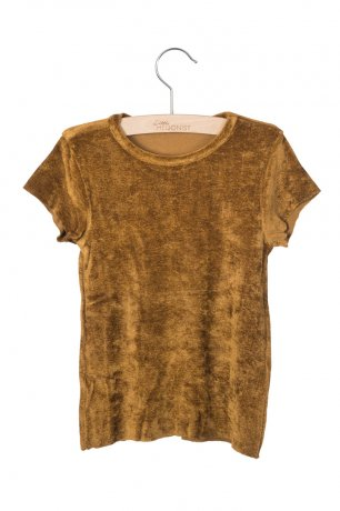 <img class='new_mark_img1' src='https://img.shop-pro.jp/img/new/icons8.gif' style='border:none;display:inline;margin:0px;padding:0px;width:auto;' />little HEDONIST / T-shirt Dean / Gold