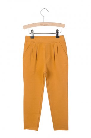 <img class='new_mark_img1' src='https://img.shop-pro.jp/img/new/icons8.gif' style='border:none;display:inline;margin:0px;padding:0px;width:auto;' />little HEDONIST / Pleated Trousers Kobus / Pumpkin Spice