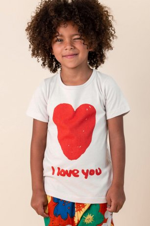 <img class='new_mark_img1' src='https://img.shop-pro.jp/img/new/icons8.gif' style='border:none;display:inline;margin:0px;padding:0px;width:auto;' />Nadadelazos / T-SHIRT I LOVE YOU / WARM GREY / SS20 TSH.6.500 I LOVE U