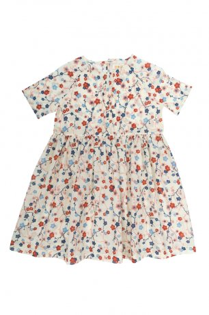 Omibia / SIMA Dress / Cherry Flower Print / SS20W01