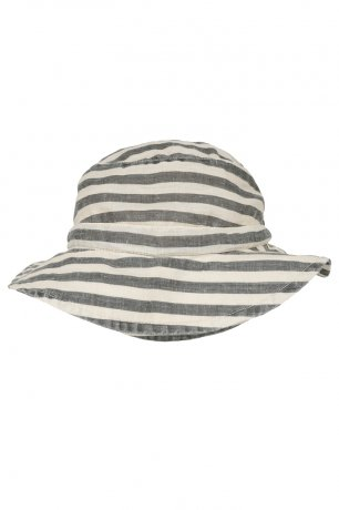 <img class='new_mark_img1' src='https://img.shop-pro.jp/img/new/icons8.gif' style='border:none;display:inline;margin:0px;padding:0px;width:auto;' />Omibia / FRANCIS Hat / Flax Stripes / SS20W08