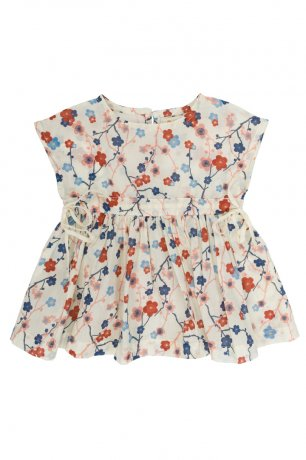 <img class='new_mark_img1' src='https://img.shop-pro.jp/img/new/icons8.gif' style='border:none;display:inline;margin:0px;padding:0px;width:auto;' />Omibia / TULIPA Dress / Cherry Flower Print / SS20W14