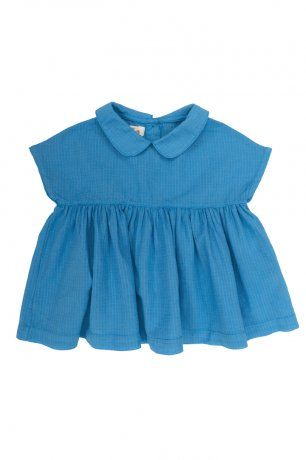 <img class='new_mark_img1' src='https://img.shop-pro.jp/img/new/icons8.gif' style='border:none;display:inline;margin:0px;padding:0px;width:auto;' />Omibia / CLAVEL Dress / Capri Blue / SS20W22