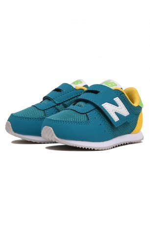 <img class='new_mark_img1' src='https://img.shop-pro.jp/img/new/icons8.gif' style='border:none;display:inline;margin:0px;padding:0px;width:auto;' />NEW BALANCE / IV220 GY2 / GREEN/YELLOW
